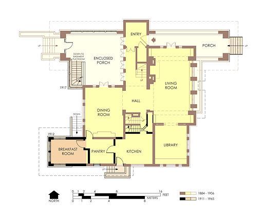 Hills-DeCaro_House_First_Floor_Plan_Pre-Fire
