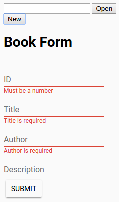 book-form-demo